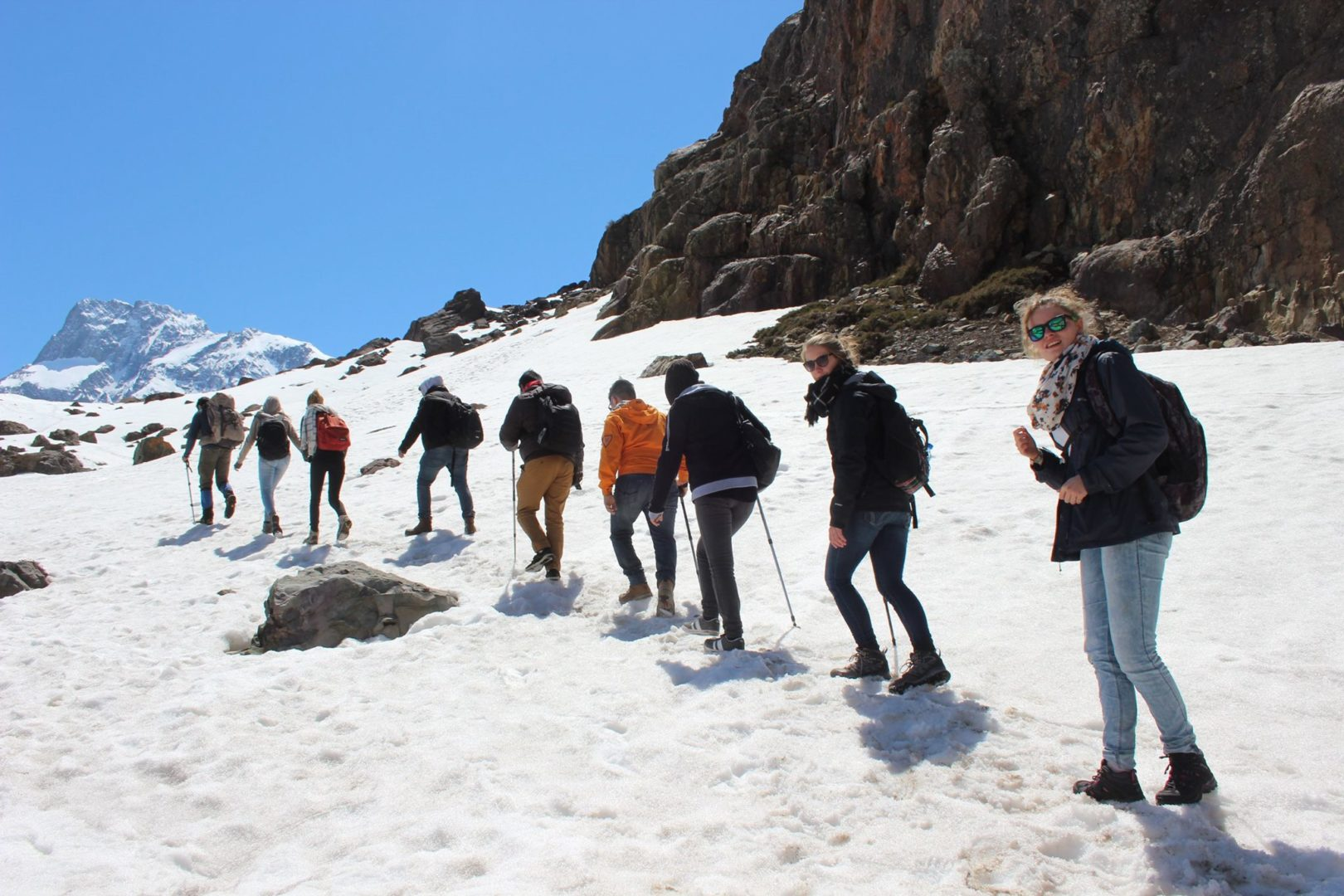 Trekking to Glacier and Hot Spring -1 Full Day Tour