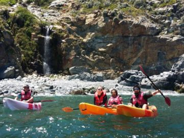 Kayaking in Laguna Verde – Full day