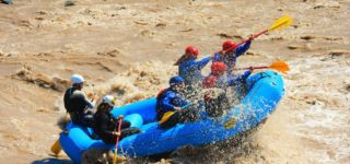 Extreme Rafting in Cajón del Maipo: Rafting