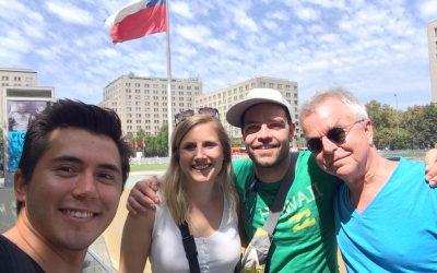 Walking through Santiago as a Chilean – 2 Days
