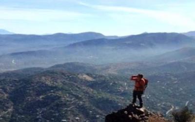"""Der Aufstieg zum Berg """"Cerro Pochoco"""""""